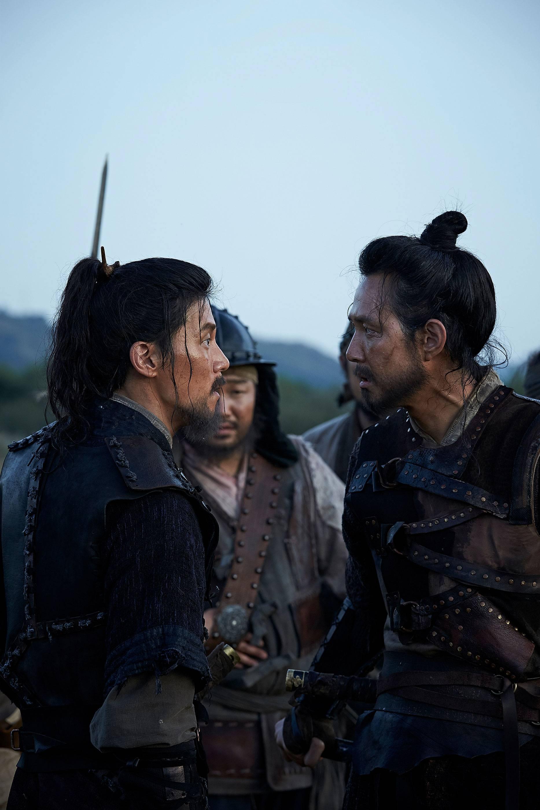 Photos Added new stills for the Korean movie 'Warriors ...