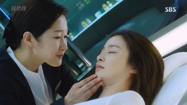 Yeo-jin and Nurse Hwang