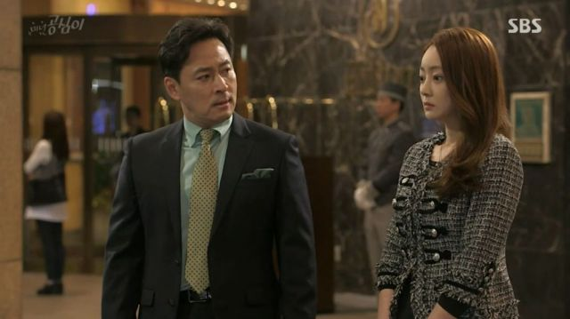Gong Mi and her boss
