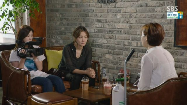 Bo-yeon, Woo-sin and a victim of SG